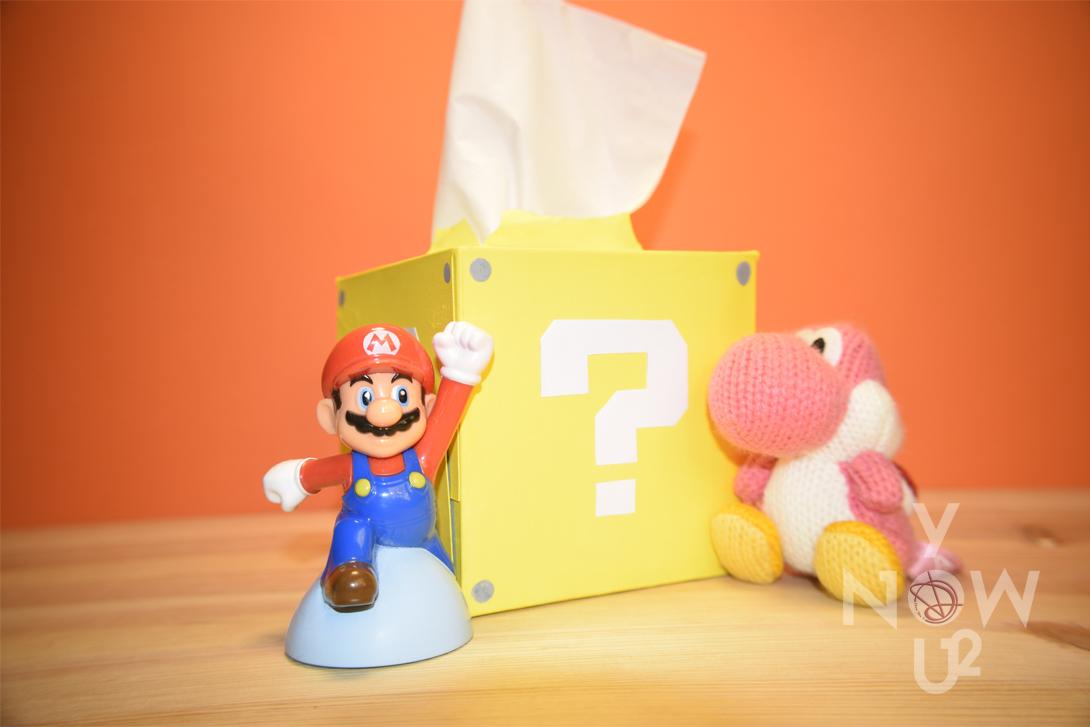 Tissue box Super Mario