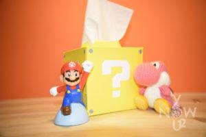 SuperBox: la scatola di fazzoletti di Super Mario