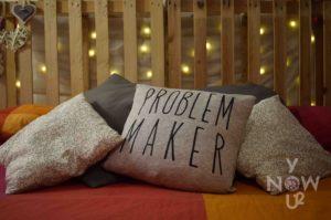 Cuscino problematico, il cuscino fai da te